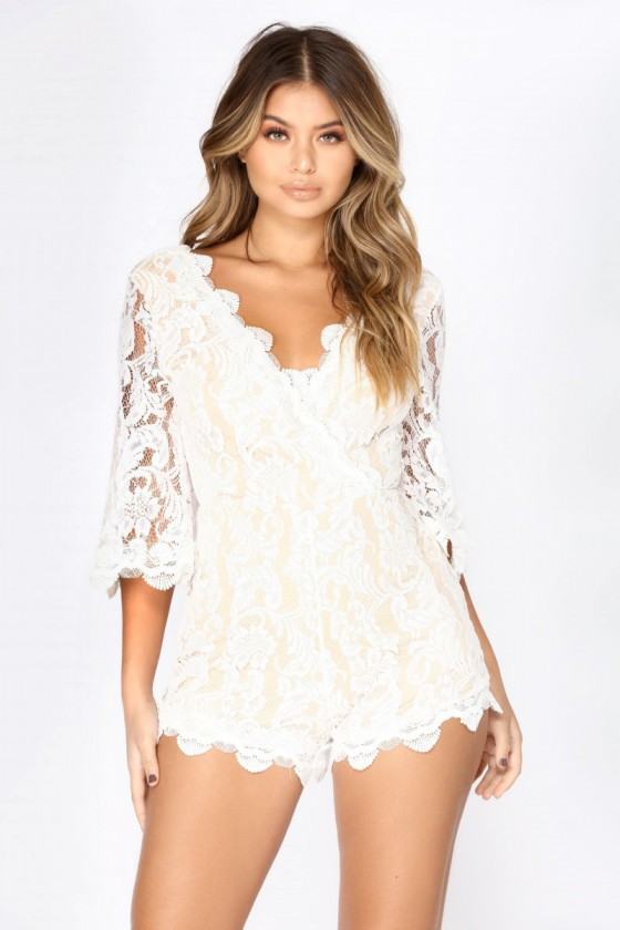 Loving This Lace Romper