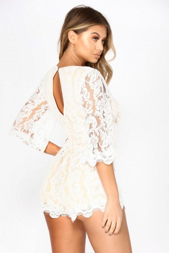 Loving This Lace Romper